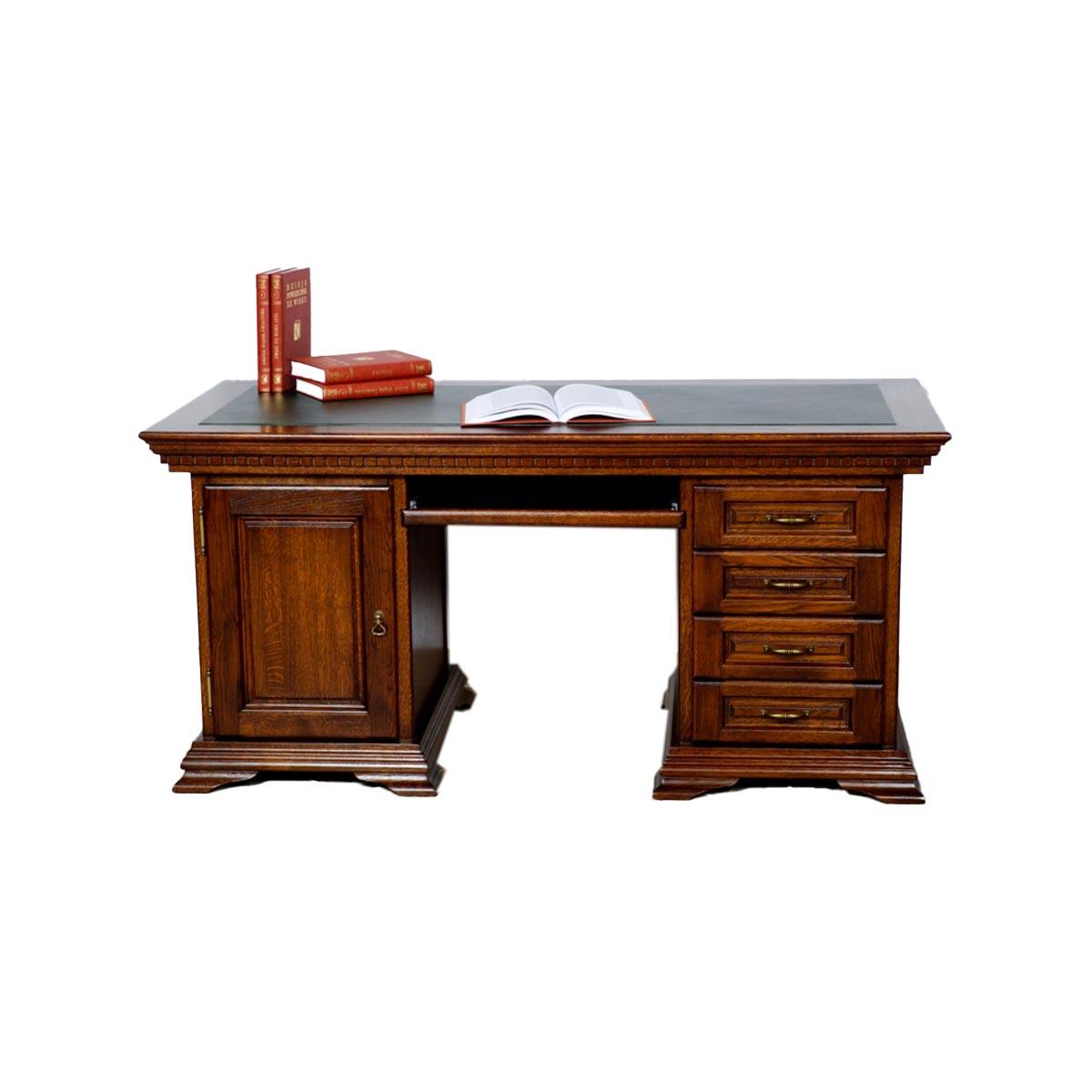 Dubový psací stůl