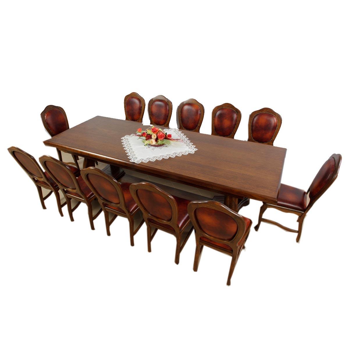 Jídelní dubový stůl Brazil