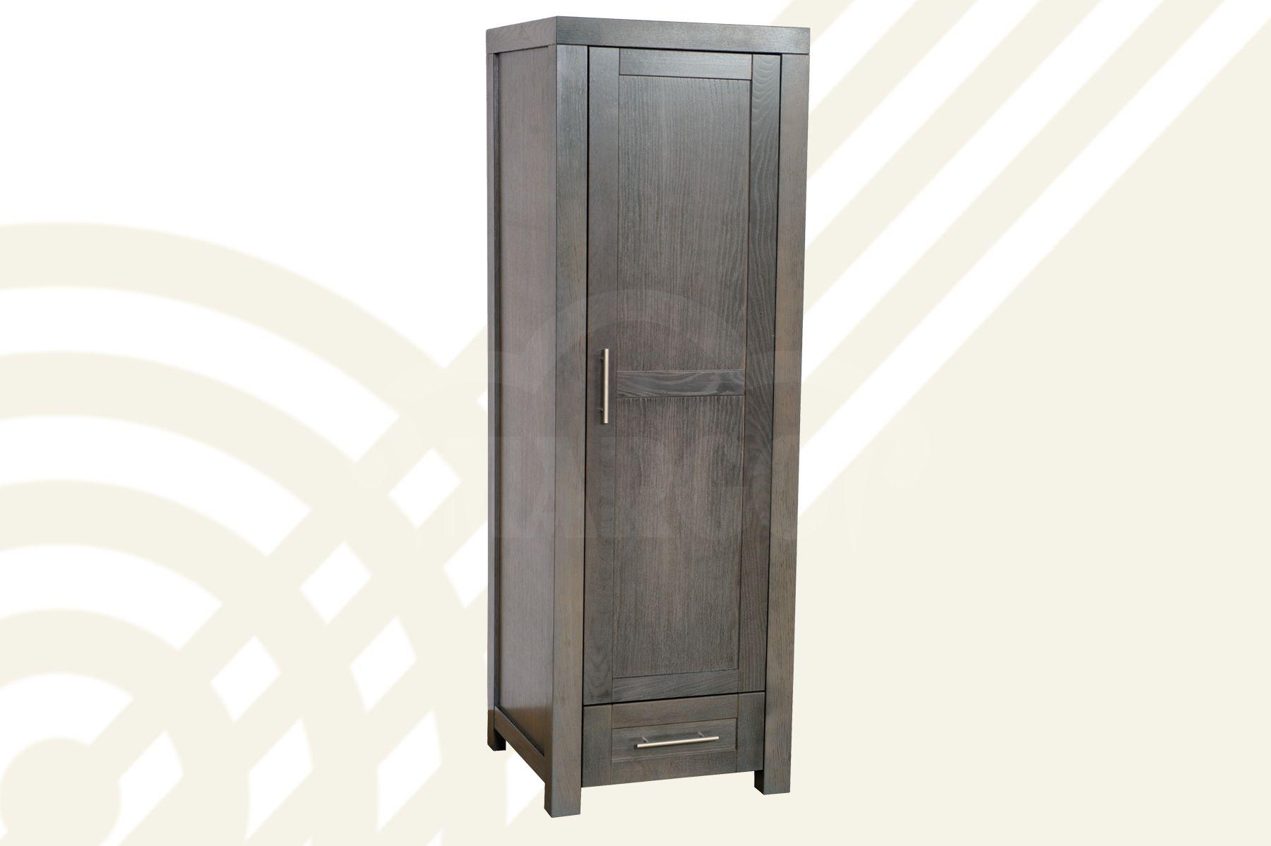 Dubová šatní skříň I D
