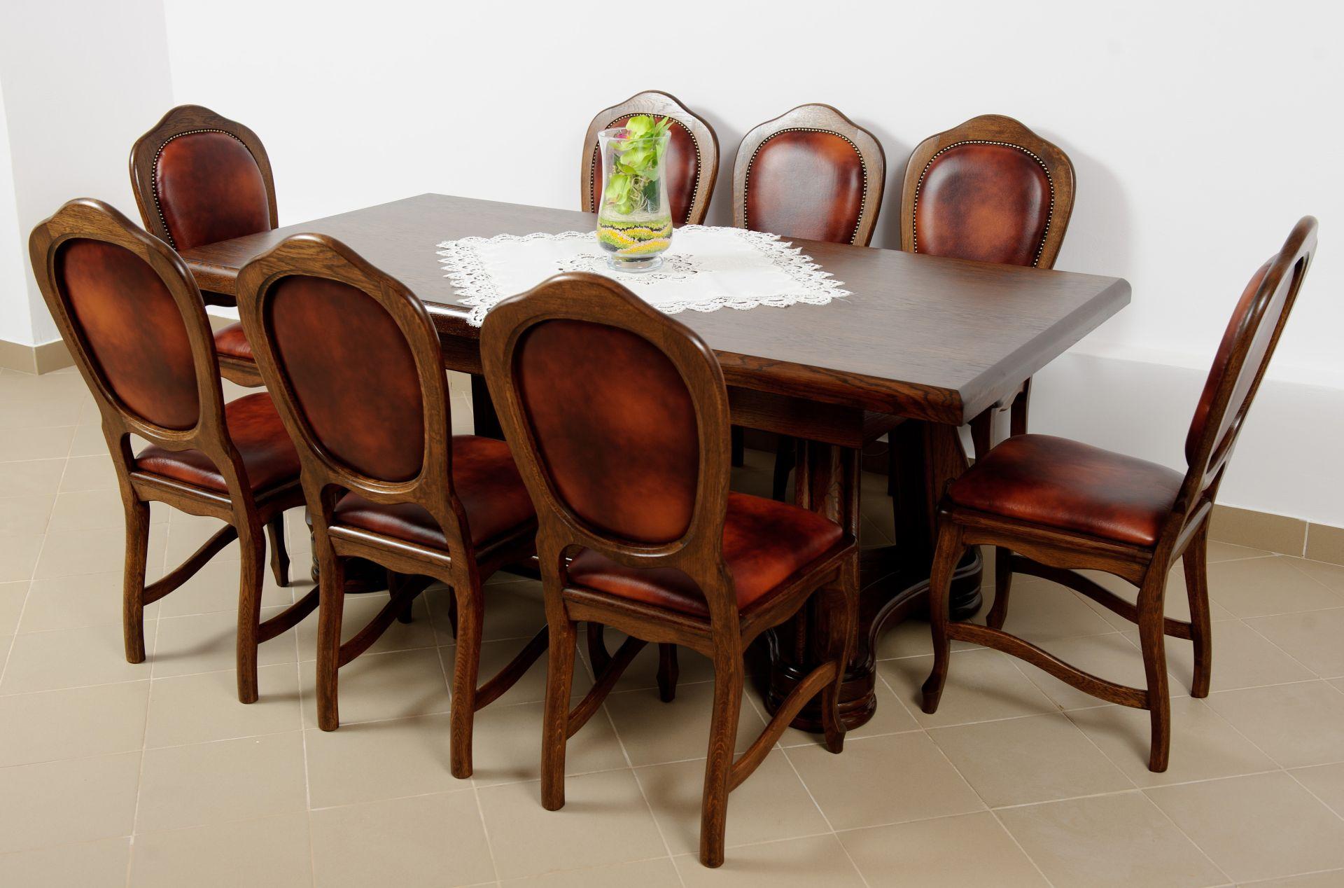 Dubový stůl rozkládací Brazil