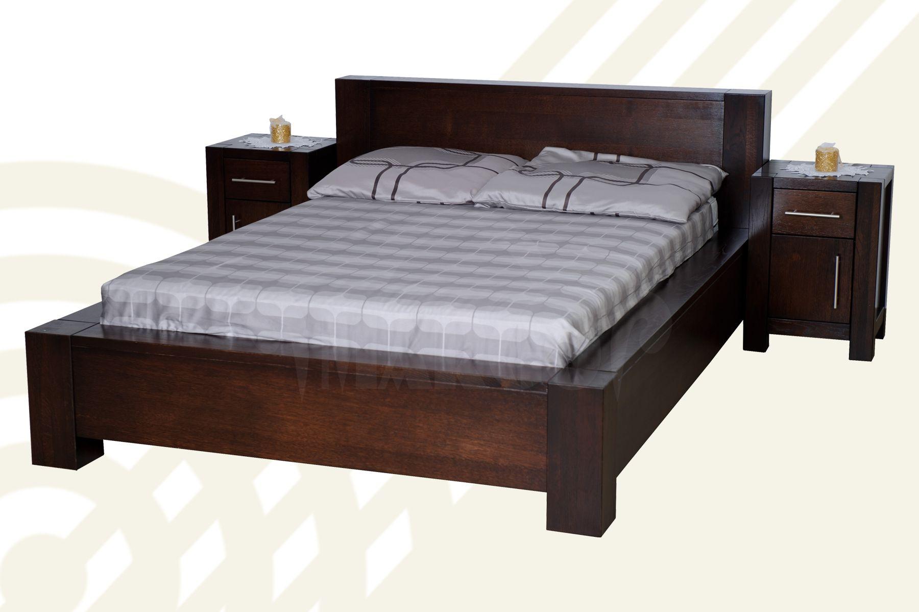 Dubová postel Boss