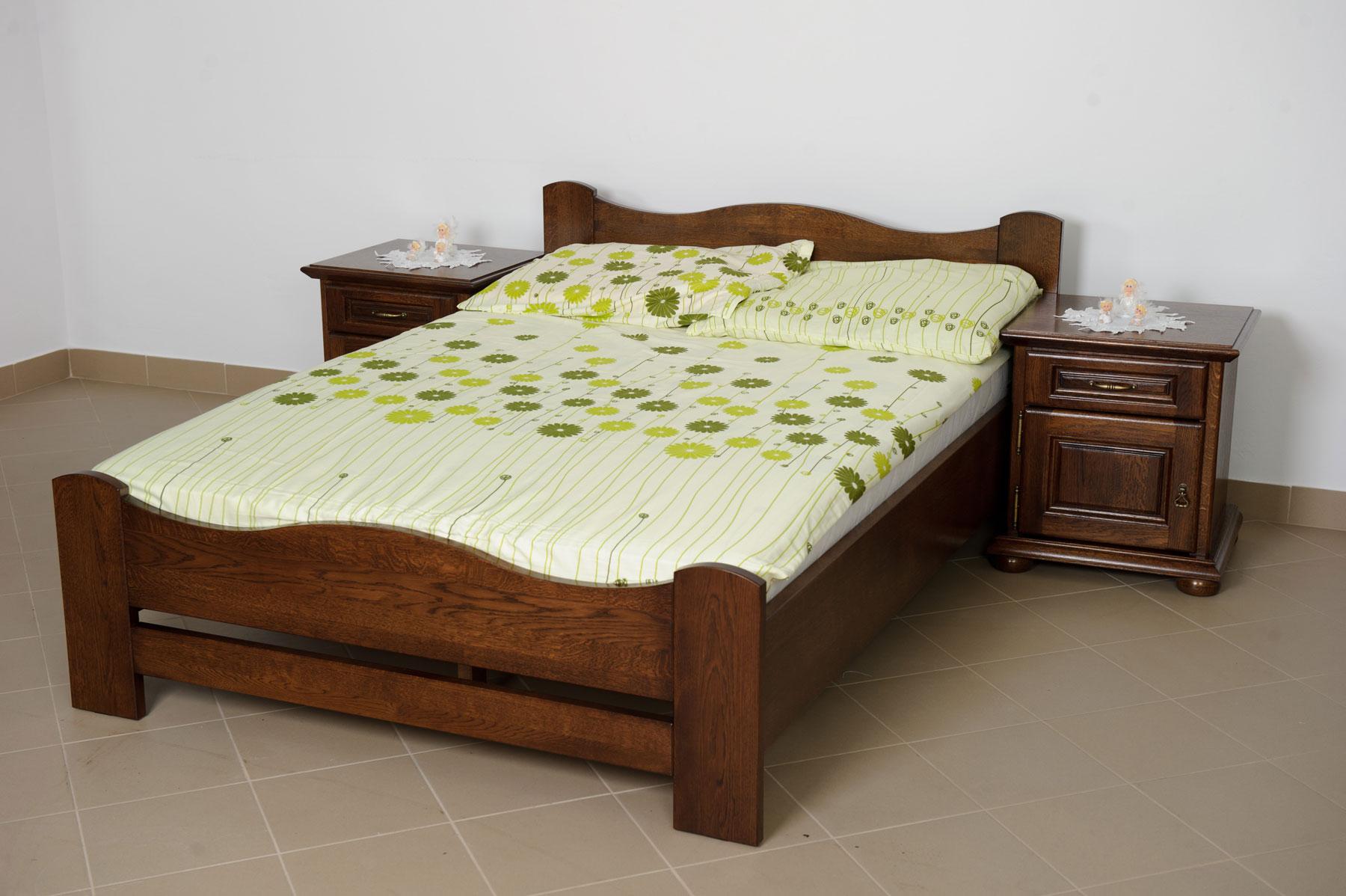 Dubová postel Fal