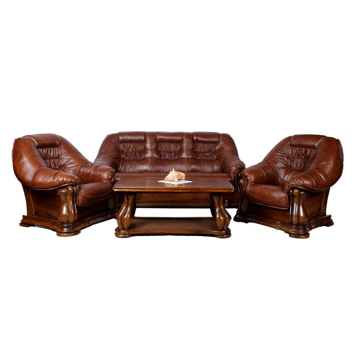 Kožená sedačka Martin