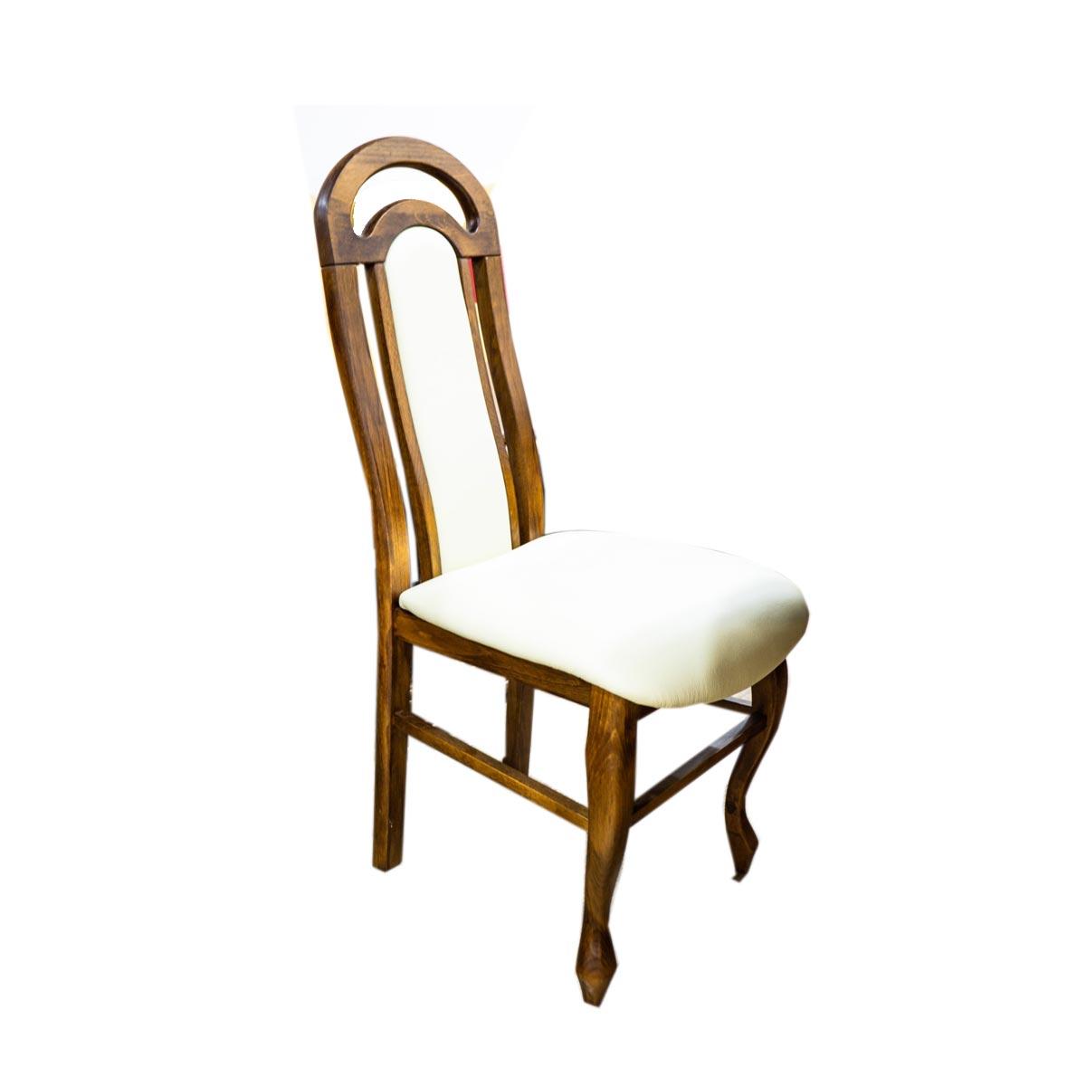 Masivní židle E-2