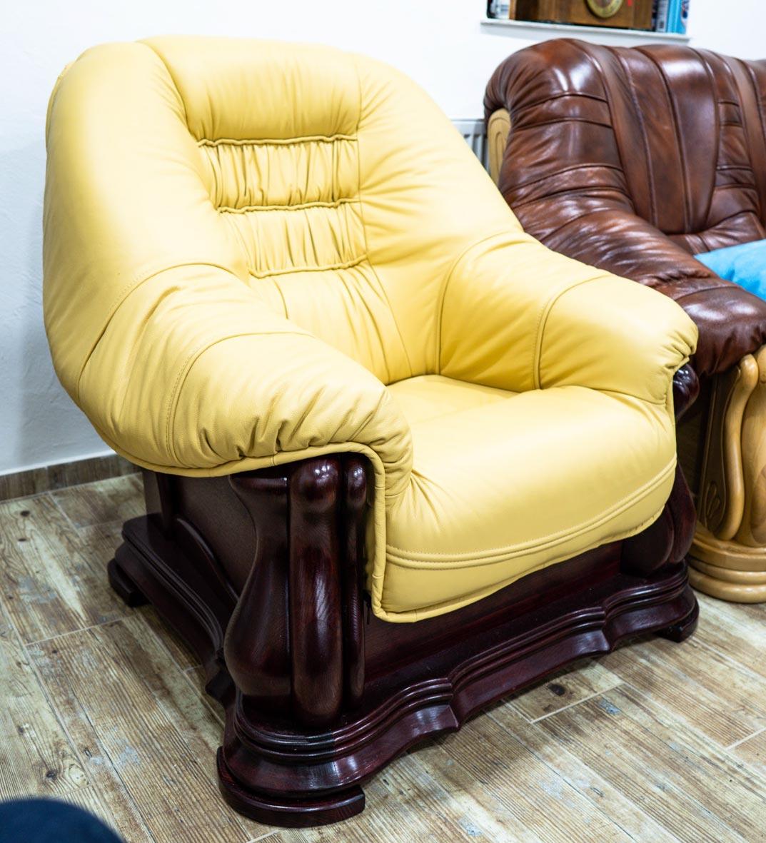 Kožená sedačka Martin - rohová